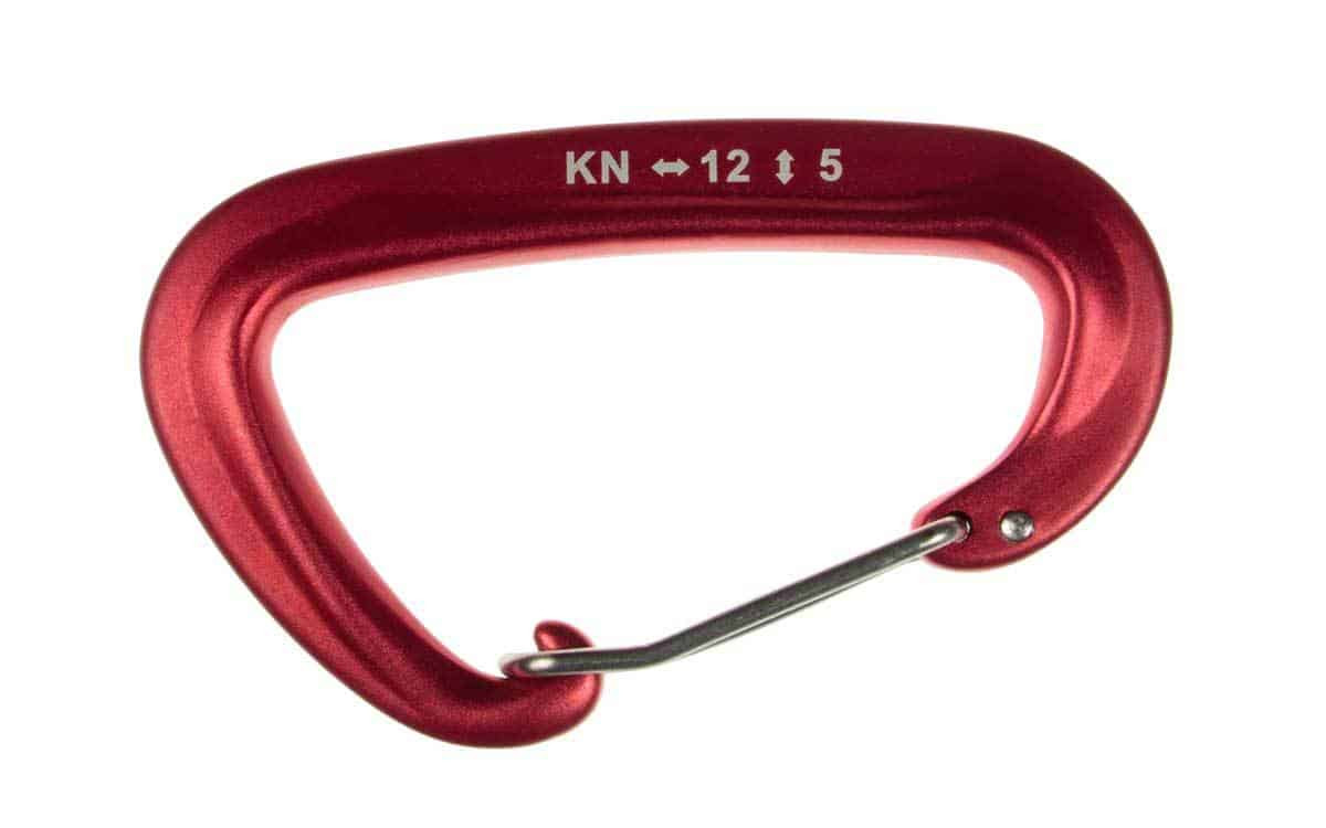 Karabińczyk do hamaka ultralight Red