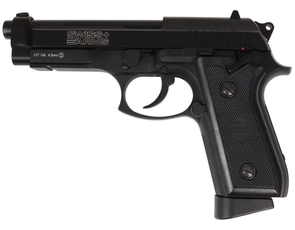Wiatrówka CyberGun Swiss Arms P92 FULL METAL Blow Back 4,5 mm